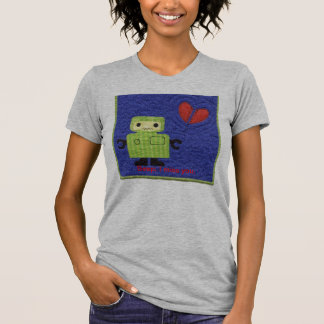 robot, Beep; I miss you. T-Shirt