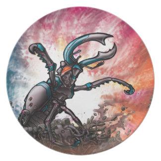 Robot Beetle Plate