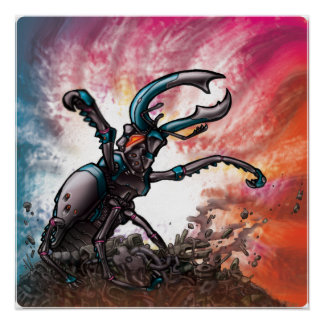 Robot Beetle Poster