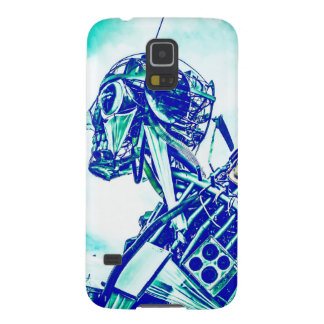 Robot Blues Galaxy S5 Cover