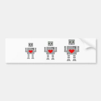 Robot Bumper Sticker