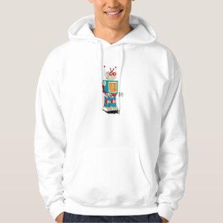 Robot character cartoon hoodie