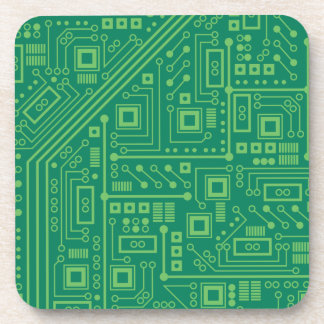 Robot Circuit Board Coaster