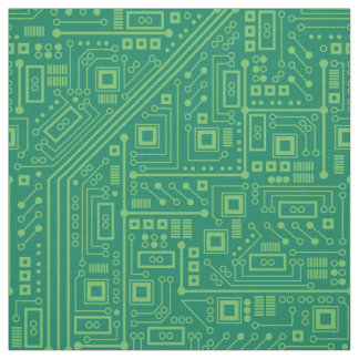 Robot Circuit Board Fabric