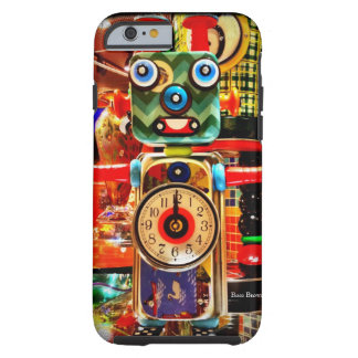 Robot Clock Recycled Art iPhone 6 case