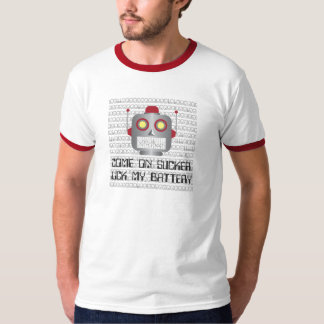 """Robot """"Come On Sucker"""" T Shirts"""