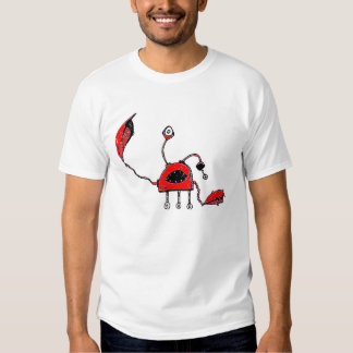 Robot Crab Tee Shirts