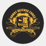 Robot Defence Force Sticker
