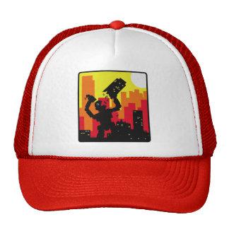 Robot Destroy Trucker Hats
