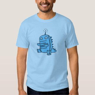 Robot Dino - Blue T Shirt