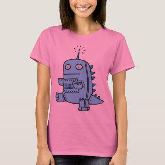 Robot Dino - Blue T-Shirt