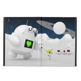 Robot Discovers Flower Powis iPad Air 2 Case