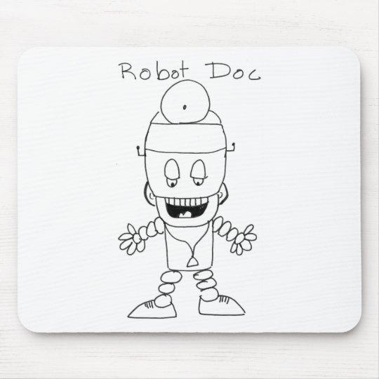 Robot Doctor Mouse Mat