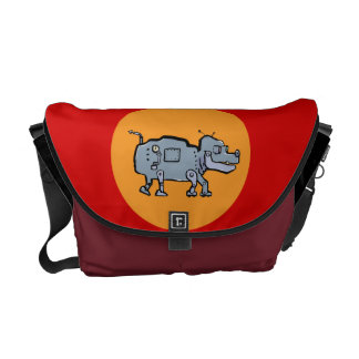 robot dog courier bags