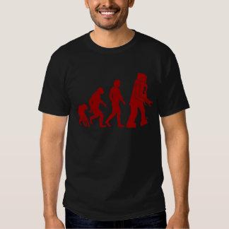 Robot Evolution - from man into robots T-shirt