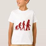 Robot Evolution of man into robot Tshirts