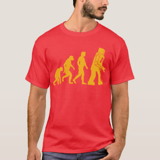 Robot Evolution Sheldon Cooper Big Bang Theory T-Shirt
