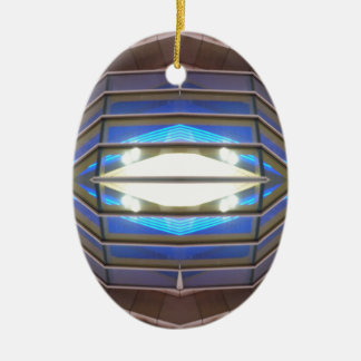 Robot Eye 6 - CricketDiane SciFi Art Products Ceramic Oval Decoration