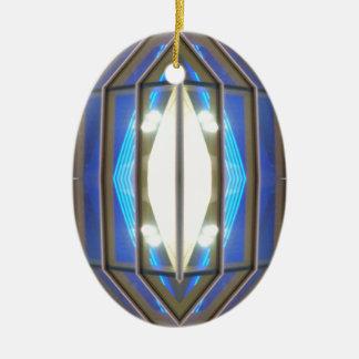 Robot Eye 7 - CricketDiane SciFi Art Products Ceramic Oval Decoration