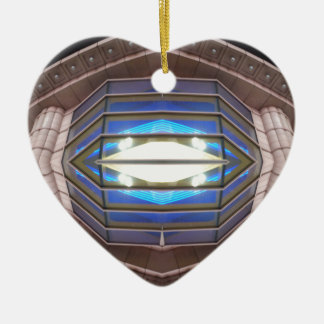 Robot Eye - CricketDiane SciFi Art Products Ceramic Heart Decoration