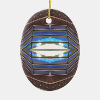 Robot Eye - CricketDiane SciFi Art Products Ceramic Oval Decoration
