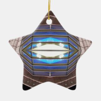 Robot Eye - CricketDiane SciFi Art Products Ceramic Star Decoration