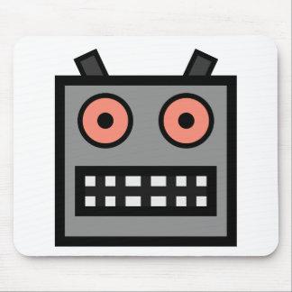ROBOT FACE MOUSE MAT
