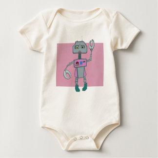Robot (Female) Baby Baby Bodysuit