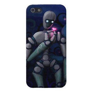 Robot Finds Love Cover For iPhone 5/5S