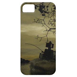 Robot Fishing Barely There iPhone 5 Case
