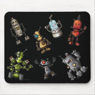 Robot Gang Mouse Mat