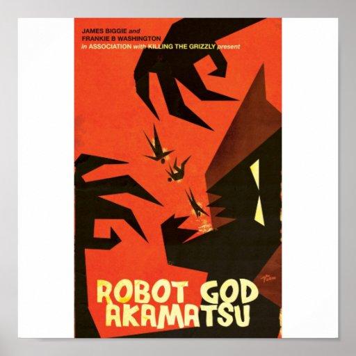 Robot God Akamatsu Poster 6