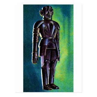 Robot Golden Age Postcard