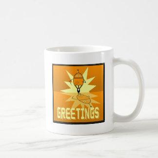 Robot Greetings Mug