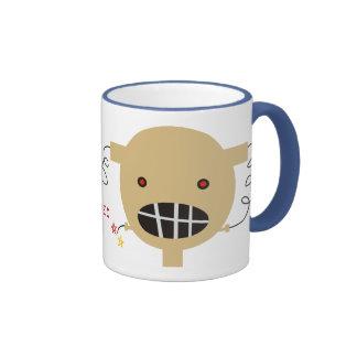 robot head broken circuit technical difficulties ringer mug