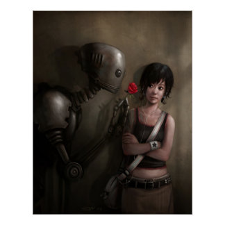 Robot In Love Poster