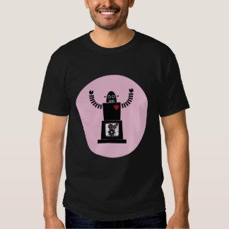 Robot in love tshirts