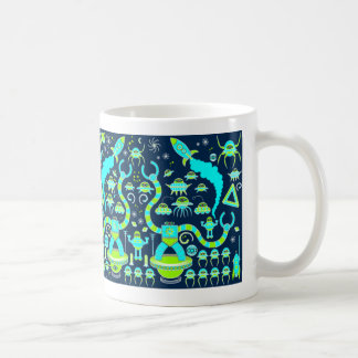 Robot Invasion Coffee Mug