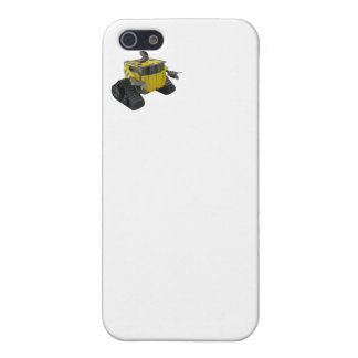Robot iPhone (The camera and flash are the eyes) iPhone 5/5S Cases
