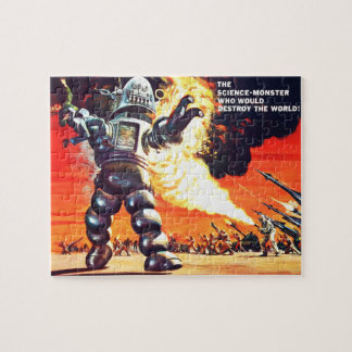 Robot Jigsaw Puzzle