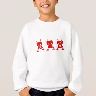 Robot Kid and Baby Clothes Sweatshirt