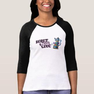 Robot Kitty Love T Shirt