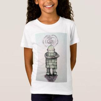 Robot love kid's T-shirt