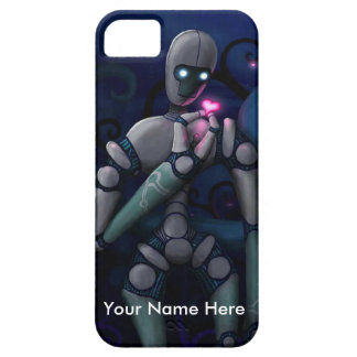 Robot Love (Personalize any Message) Case For The iPhone 5