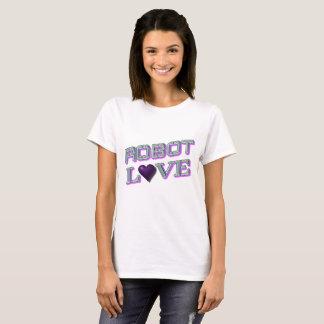 """""""Robot Love"""" Women's Basic T-Shirt"""