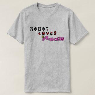 Robot Loves Princess T-Shirt
