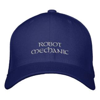 ROBOT MECHANIC Hat Embroidered Baseball Cap