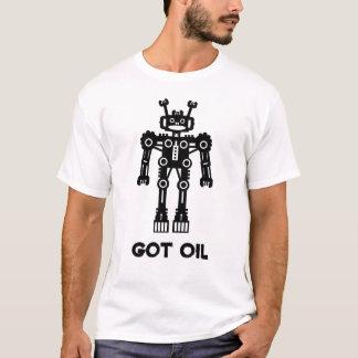 Robot Mk I - GOT OIL T-Shirt