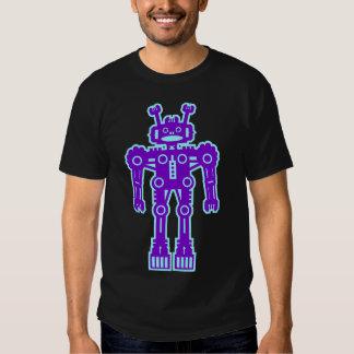 Robot Mk I - (Purple & Lt Blue) - Customized Tshirt
