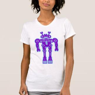 Robot Mk I - (Purple & Lt Blue) - Customized Tshirts
